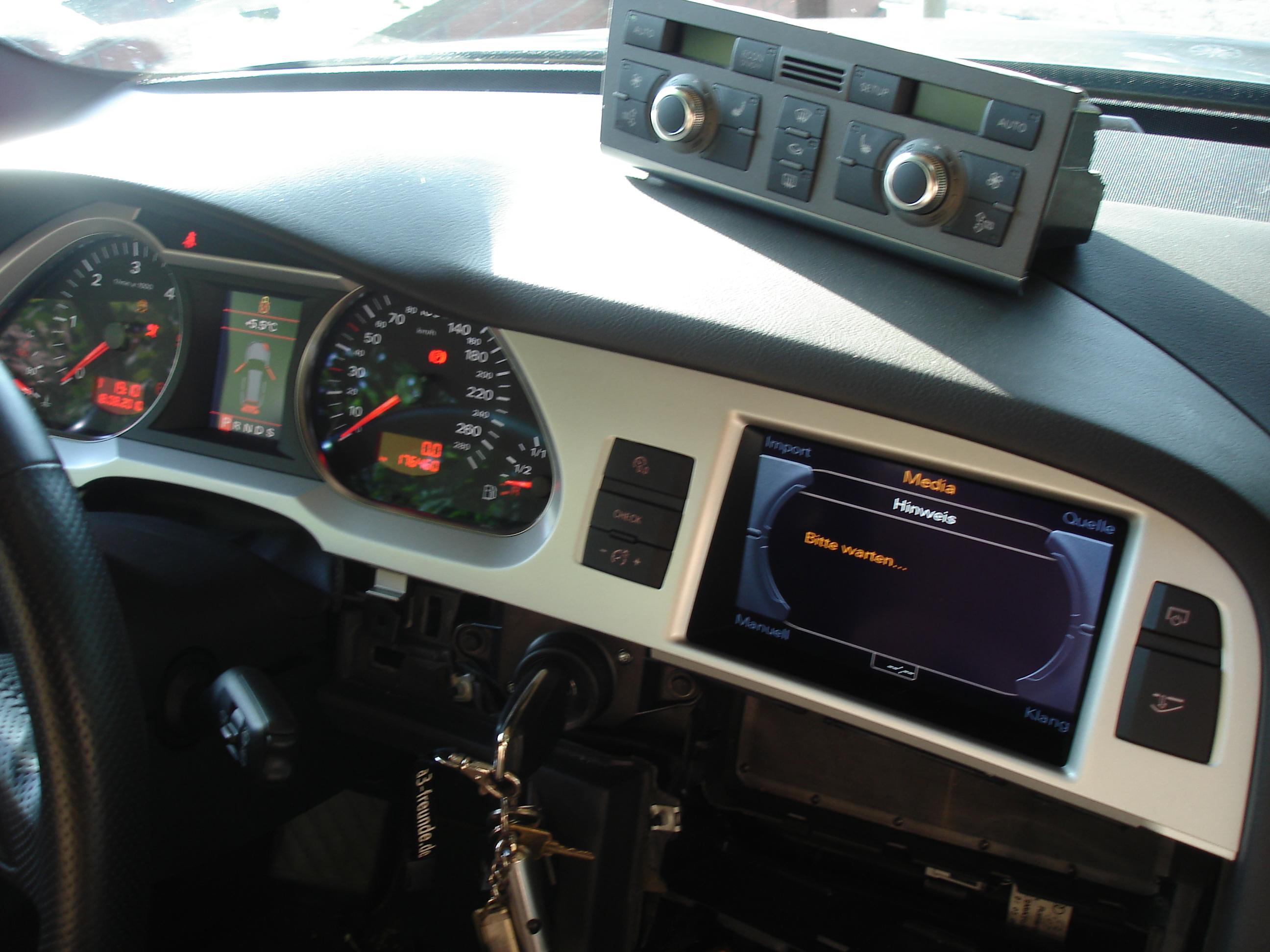 4f Mmi 3g Umbau In Meinem Dickschiff Audi A3 Forum F 252 R